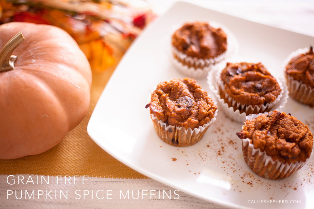 Grain Free Pumpkin Spice Muffins :: Callie Shepherd :: Elements of Life